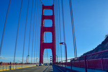 Driving Over The Golden Gate B...