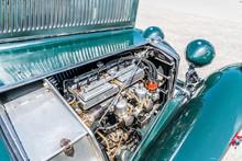 4-Zylinder-Motor Eines Englisc...