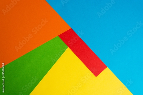 abstract papery colorful background Canvas Print