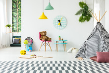 Playroom With Toys