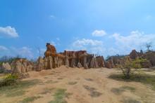 Soil Textures Of Sao Din Na Noi In Sri Nan National Park, Nan Thailand.
