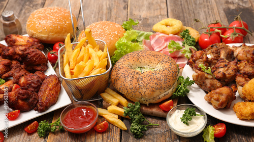 selection of american food © M.studio