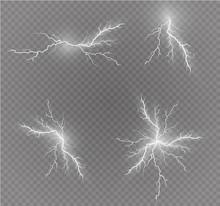 A Set Of Lightning Magic And B...