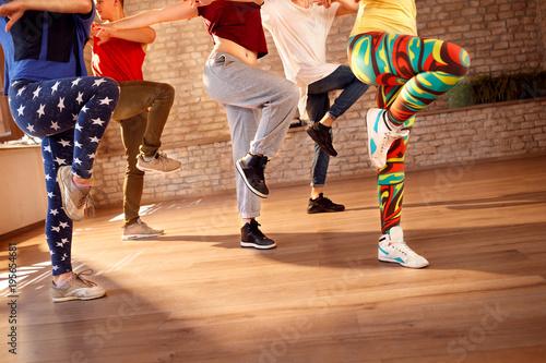 Dancers legs, concept