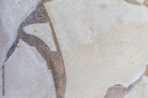 Fotografía de fondo de una pared de piedra. Canvas Print