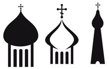 Orthodox Domes. Christian Church, Temple.
