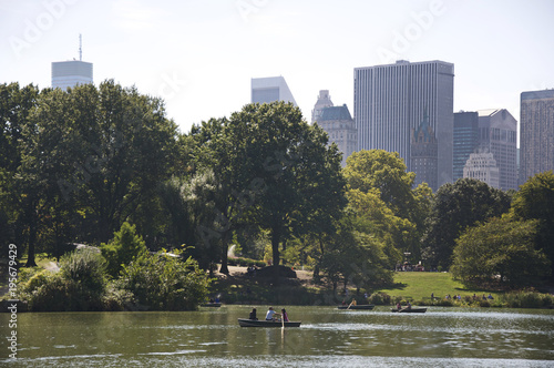 Photographie Central Park in Manhattan New York city