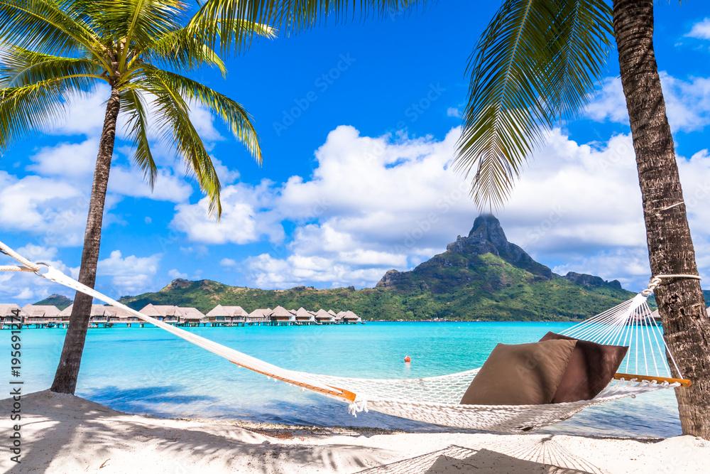 Fototapeta Bora Bora Island, French Polynesia.