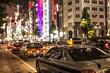 Blurry traffic of Tokyo