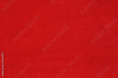 Photo Red woolen baize texture background