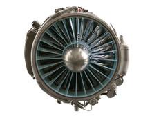 Interior Of A Aviation Jet Eng...