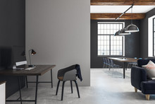 Modern Open Space Interior