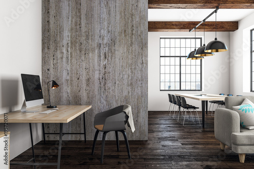 Obraz New open space interior - fototapety do salonu