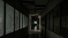 Haunted Abandoned Hallway