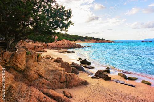 Photo Rocky Capriccioli Beach in Costa Smeralda Sardinia