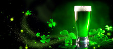 St. Patrick's Day. Green Beer ...