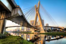 Estaiada Bridge - Sao Paulo - ...