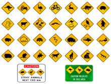 Australian Warning Road Signs ...