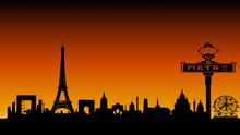 Paris Ombres Chinoises Le Soir