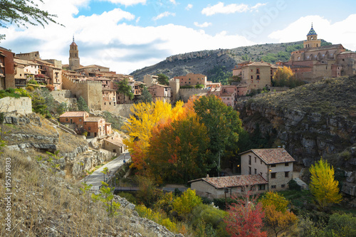 Albarracin, Aragon, Spain Wallpaper Mural