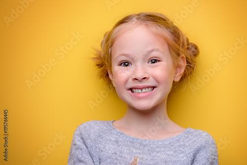 smiling kid girl