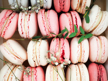 Colorful Macaroons, Colorful F...