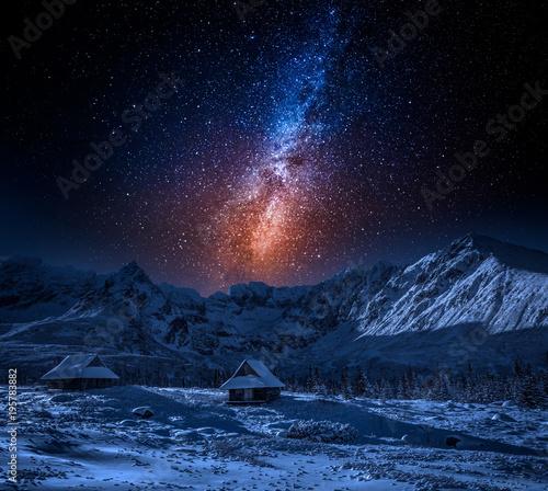 Zdjęcie XXL Ciesz się zimą w górach z mily sposobem