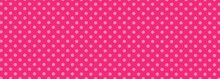 Pink Polka Dot Background