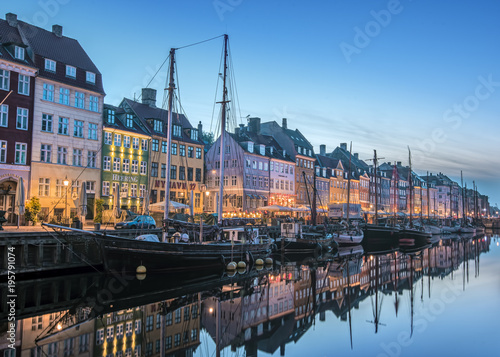 Photo  Copenhagen Blue Hour