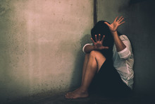 Stop Sexual Abuse Concept, Sto...