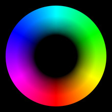 Vector Bright Iridescent RGB E...