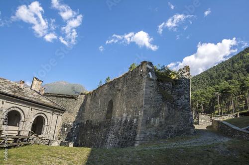 Foto  Fenestrelle Fort in Piedmont, Italy