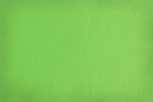 Green Cement Wall Texture For Background And Design Art Work.