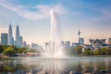 Fountain In Kuala Lumpur Park