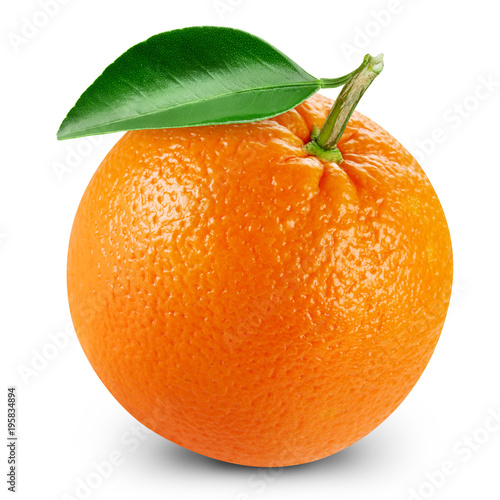 orange fruits with leaf Fotomurales