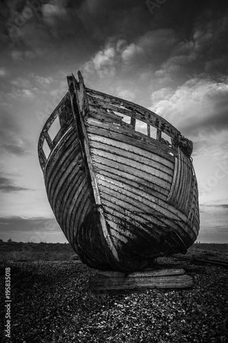 Foto op Canvas Schipbreuk Dungeness Wreck