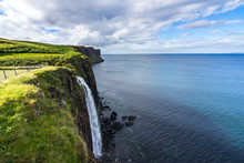 Kilt Rock And Mealt Waterfall,...