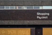 Recession British Shopping Area