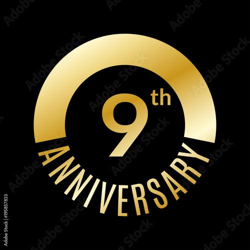 Fotografia  9 year anniversary icon