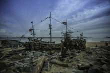 Driftwood Pirate Ship