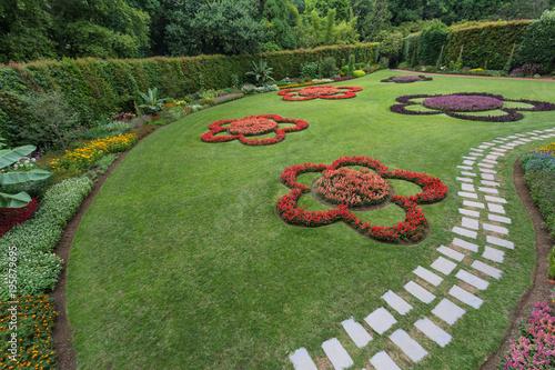 Fotografie, Obraz  Beautiful garden at Terra Nostra park, Sao Miguel Iskand, Azores