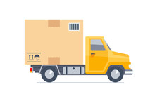 Delivery Truck Transporting A ...
