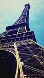 Fototapeta Wieża Eiffla - U stóp Wieży Eiffela