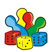 Playing Dice And Figurines, Ve...