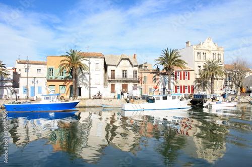 In de dag Cyprus Vieux port du Grau du roi, Camargue, France