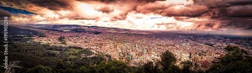 Bogota from Monserrate Wallpaper Mural