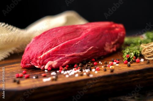 Fotografie, Obraz  fillet of beef tenderloin Prime