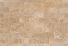 Stone Facing Of Beige Wall Mad...