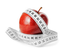 Diet Concept Measuring Tape An...