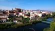 Drone en Plasencia, ciudad y municipio español de la provincia de Cáceres, situada en el norte de la comunidad autónoma de Extremadura (España) Video aereo con Dron